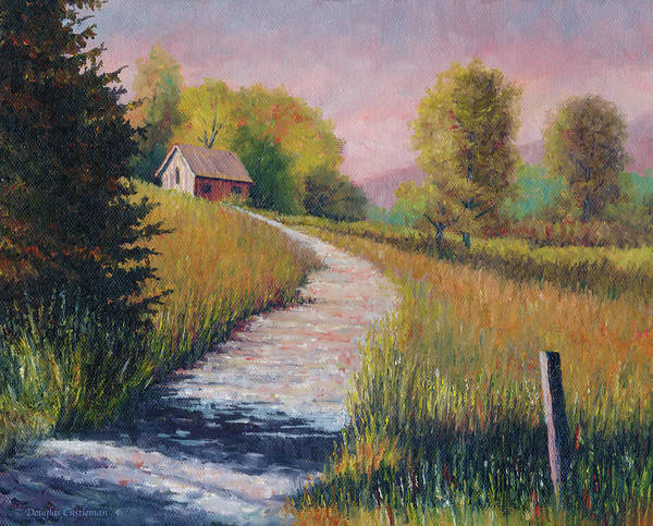 Painting - Old Road by Douglas Castleman