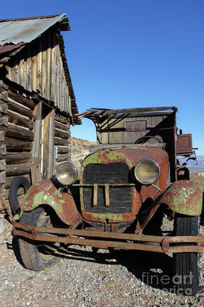 Wall Art - Photograph - Old Rusty Truck Gold King Ghost Town by Wendy Fielding