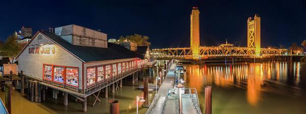 Photograph - Old Sacramento Waterfront by Jonathan Hansen