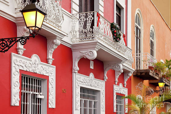 Photograph - Old San Juan Colors II by Brian Jannsen