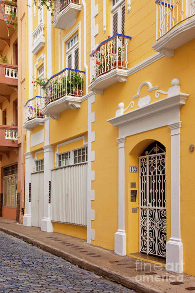 Photograph - Old San Juan Colors IIi by Brian Jannsen