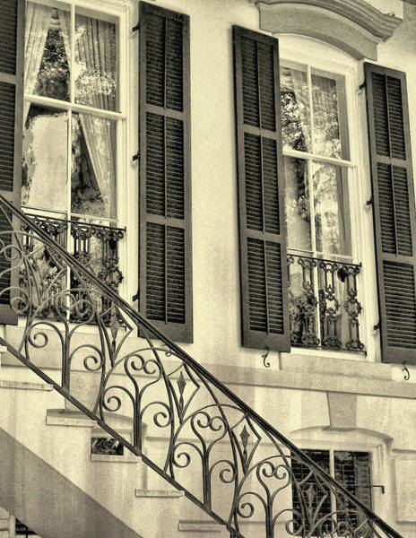 Photograph - Old Savannah Home by JAMART Photography