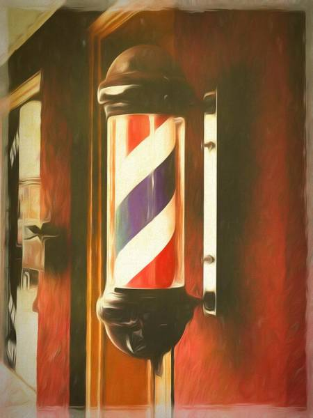 Photograph - Old School Haircut by Jack Wilson