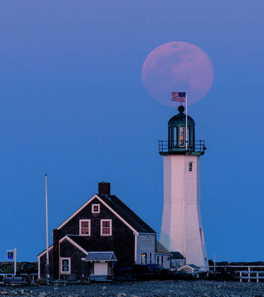 Photograph - Old Scituate Light by Rob Davies