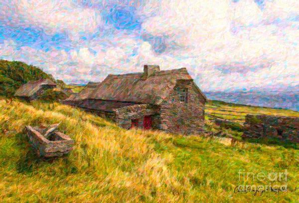Wall Art - Digital Art - Old Scottish Farmhouse by Chris Armytage