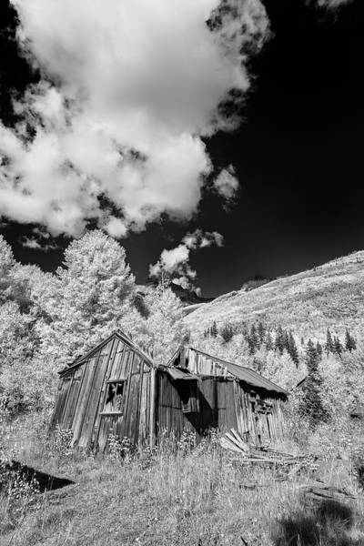 Photograph - Old Shack In Colorado II by Jon Glaser