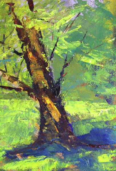 Wall Art - Painting - Old Soul Tree by Nancy Merkle
