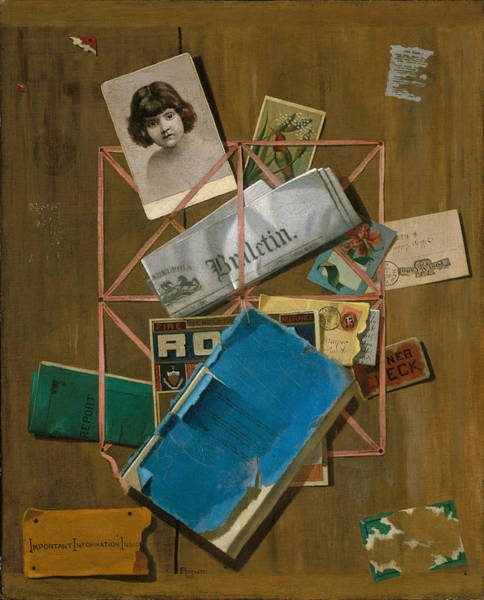 Painting - Old Souvenirs by John Frederick Peto