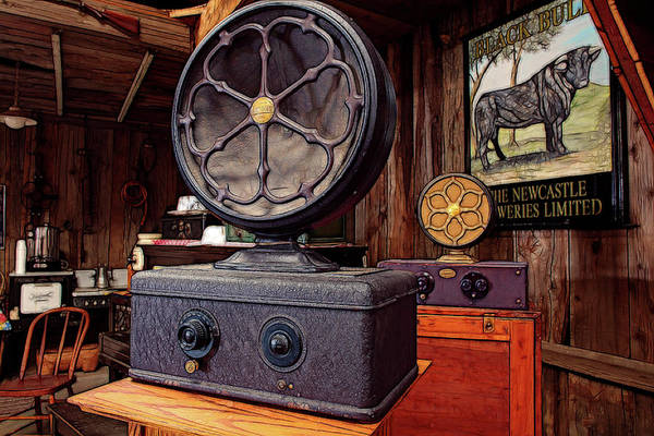 Wall Art - Photograph - Old Speakers by Mike Flynn