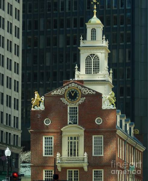 Photograph - Old State House by Marcia Lee Jones