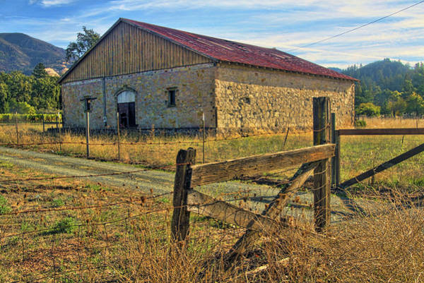 Camera Raw Photograph - Old Stone Barn by Brenton Cooper