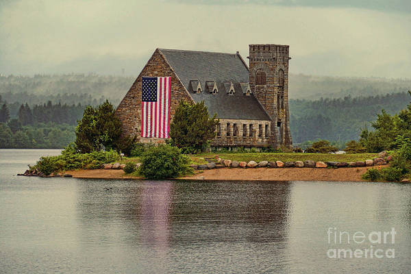 Wall Art - Photograph - Old Stone Church by Jim Beckwith