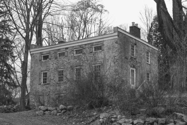 Photograph - Old Stone House - Waterloo Village by Christopher Lotito