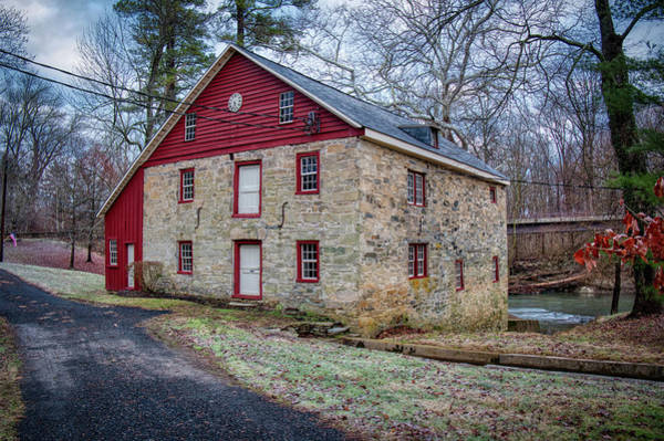 Photograph - Old Stone Mill On Deer Creek by Mark Dodd