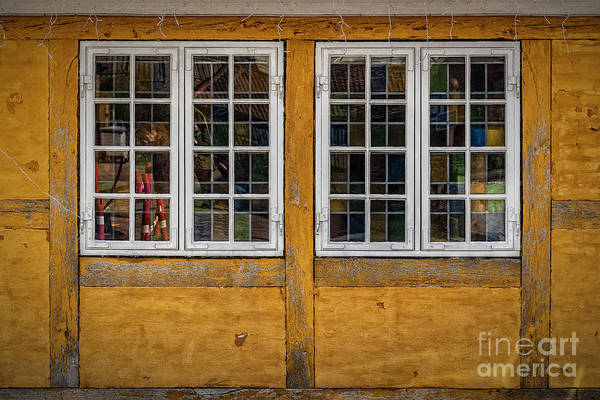 Wall Art - Photograph - Old Style House Windows by Antony McAulay