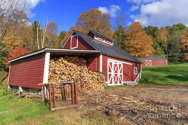 Wall Art - Photograph - Old Sugar Shack Vermont by Edward Fielding