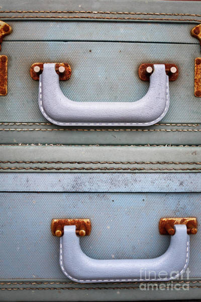Photograph - Old Suitcases 1 by Edward Fielding