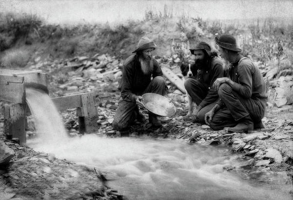 Photograph - Old Timers Strike It Rich - 1887 by Doc Braham