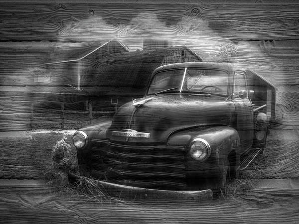 Wall Art - Photograph - Old-times Black And White by Debra and Dave Vanderlaan