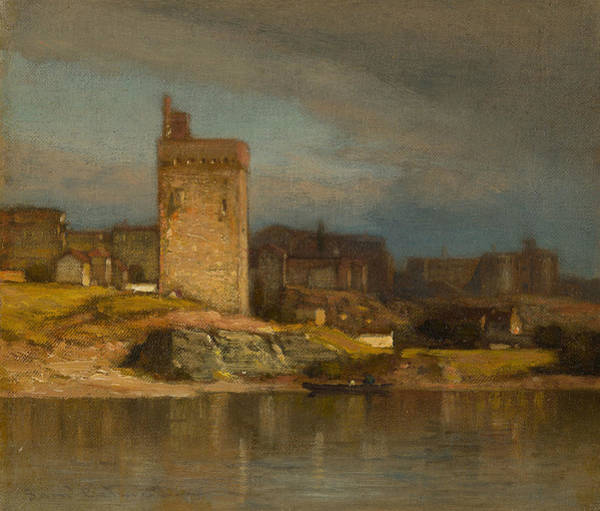 Wall Art - Painting - Old Tower At Avignon by Samuel Colman