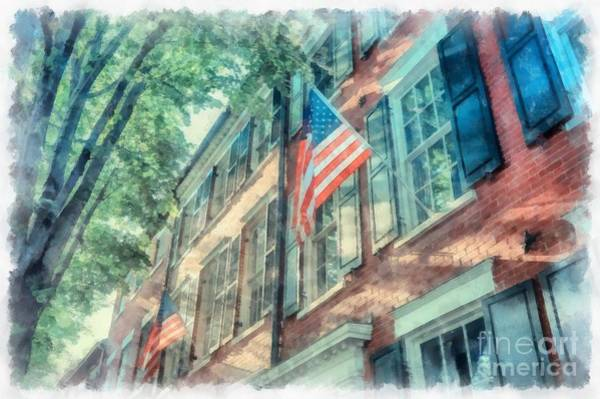 Wall Art - Photograph - Old Town Alexandria by Edward Fielding