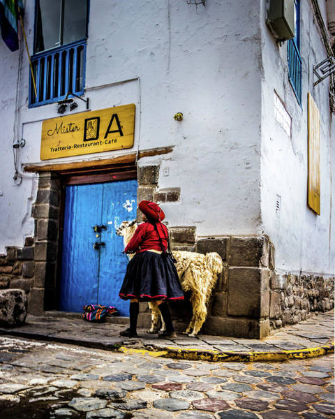 Photograph - Old Town, Cusco by Kevin Davis