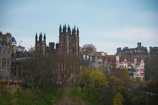 Photograph - Old Town Edinburgh Scotland by Bill Cannon