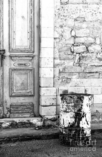 Photograph - Old Town Limassol Monochrome by John Rizzuto