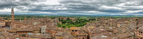 Photograph - Old Town Siena by David Letts