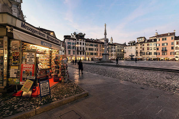 Photograph - Old Town Udine by Wolfgang Stocker
