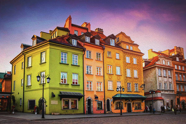 Wall Art - Photograph - Old Town Warsaw Poland by Carol Japp