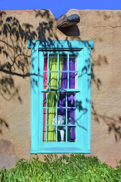 Wall Art - Photograph - Old Town Window With Shadows by Nikolyn McDonald