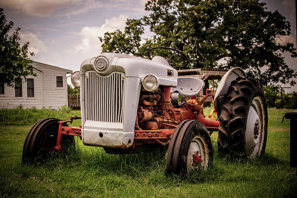 Wall Art - Photograph - Old Tractor  by Edward Garey