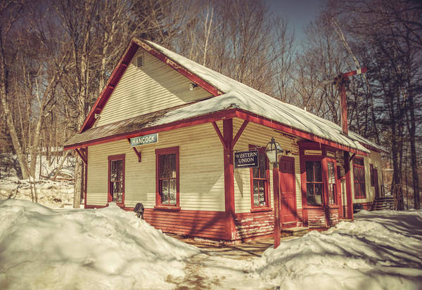 Photograph - Old Train Depot by Joann Vitali