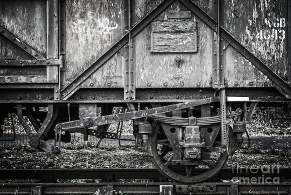 Wall Art - Photograph - Old Train In Bristol by Delphimages Photo Creations