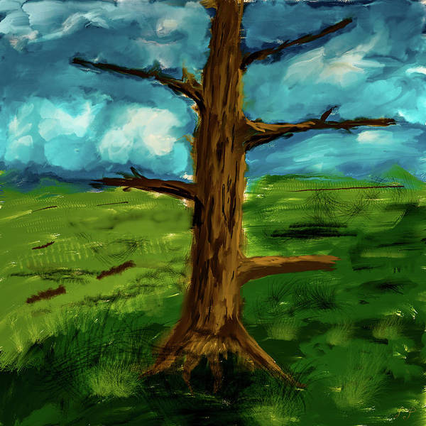 Digital Art - Old Tree #i9 by Leif Sohlman