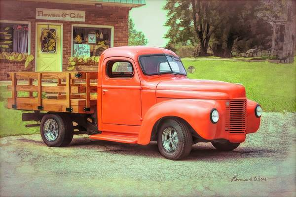 Photograph - Old Truck by Bonnie Willis