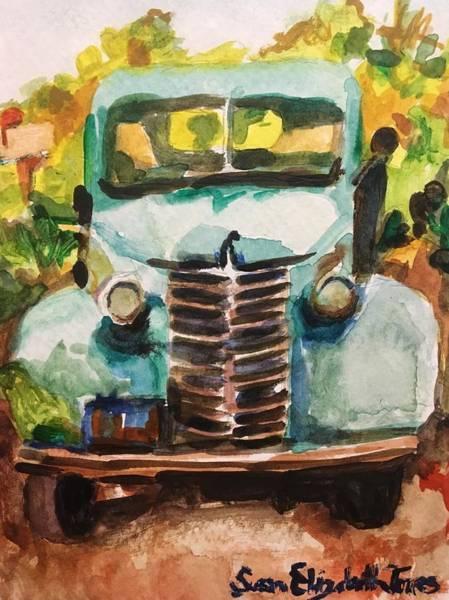 Wall Art - Painting - Old Truck by Susan Elizabeth Jones