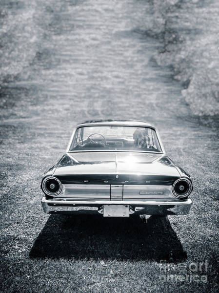 Photograph - Old Vintage Ford Fairlane Car by Edward Fielding