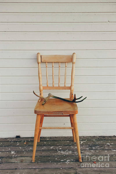 Photograph - Old Vintage Wooden Chair by Joaquin Corbalan