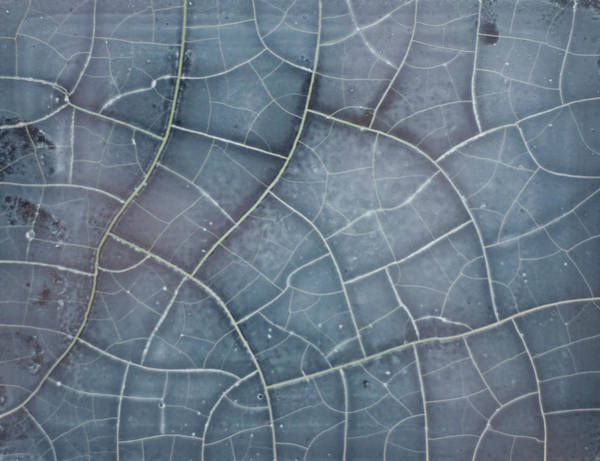 Cracked Photograph - Old Vinyl Sun Cracked Sticker by Jon Matthies Photography