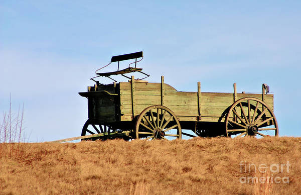 Photograph - Old Wagon by Debbie Stahre