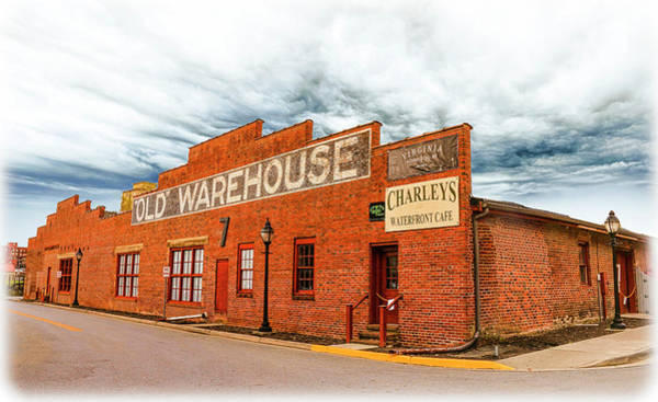 Photograph - Old Warehouse In Farmville Virginia by Ola Allen