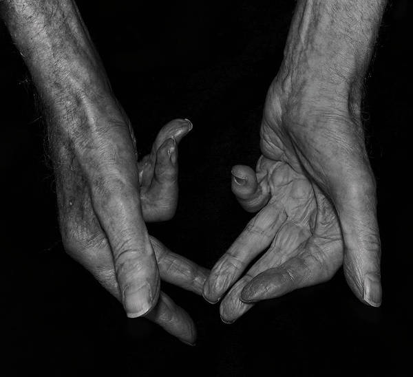 Photograph - Old Watchmakers Hands  by Doc Braham