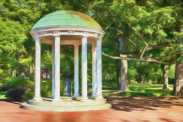 Wall Art - Photograph - Old Well At Unc by Stephen Stookey