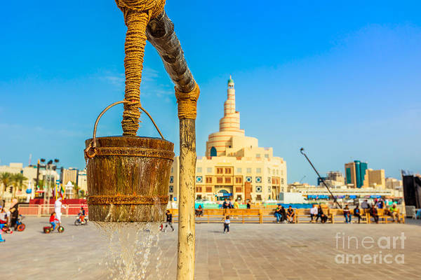 Photograph - Old Well Souq Waqif by Benny Marty