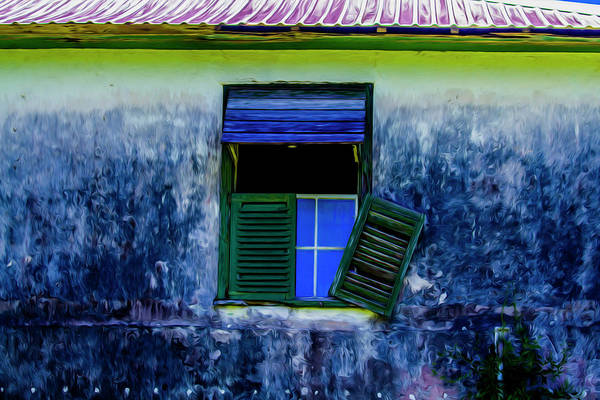 Photograph - Old Window 3 by Stuart Manning
