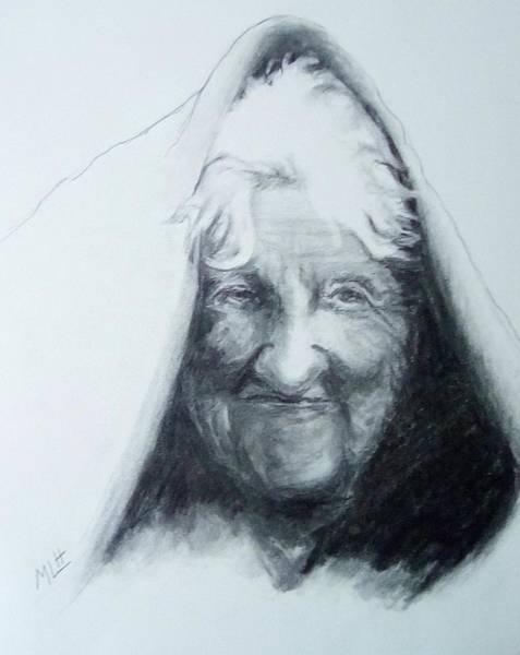 Old Woman Art Print