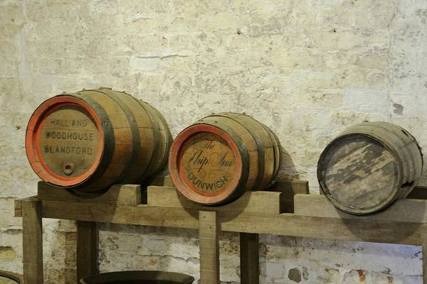 Photograph - Old Wood Beer Barrels by Bradford Martin