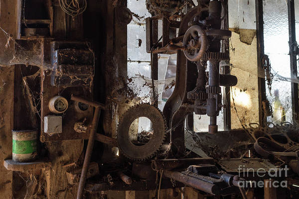 Photograph - Old Workshop, France by Perry Rodriguez